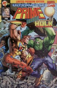 Cover Thumbnail for Prime vs. The Incredible Hulk (Malibu; Marvel, 1995 series) #0 [Limited Premium Edition]