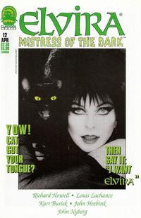 Cover for Elvira, Mistress of the Dark (Claypool Comics, 1993 series) #12