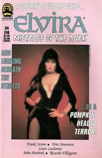 Cover Thumbnail for Elvira, Mistress of the Dark (Claypool Comics, 1993 series) #34
