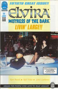 Cover for Elvira, Mistress of the Dark (Claypool Comics, 1993 series) #50