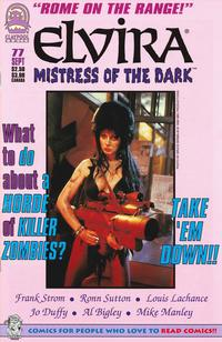 Cover Thumbnail for Elvira, Mistress of the Dark (Claypool Comics, 1993 series) #77