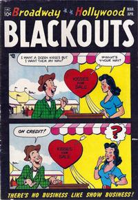 Cover Thumbnail for Broadway-Hollywood Blackouts (Stanhall, 1954 series) #1