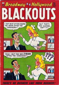 Cover for Broadway-Hollywood Blackouts (Stanhall, 1954 series) #2