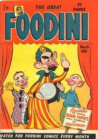 Cover Thumbnail for Foodini (Temerson / Helnit / Continental, 1950 series) #1