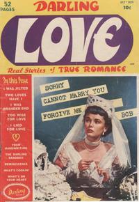 Cover for Darling Love (Archie, 1949 series) #1