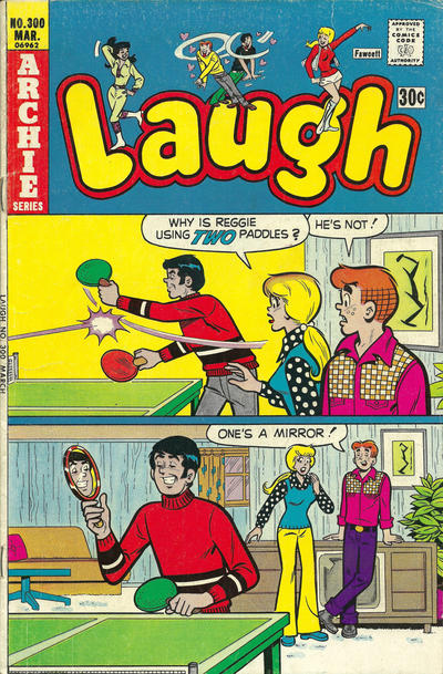 Cover for Laugh Comics (Archie, 1946 series) #300