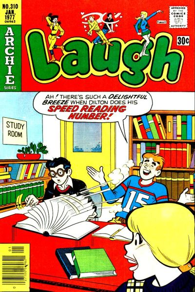 Cover for Laugh Comics (Archie, 1946 series) #310