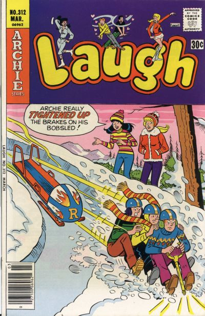 Cover for Laugh Comics (Archie, 1946 series) #312