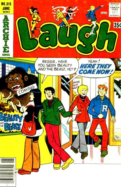 Cover for Laugh Comics (Archie, 1946 series) #315