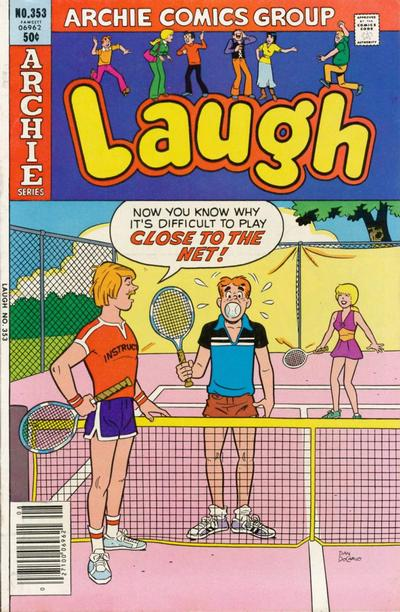 Cover for Laugh Comics (Archie, 1946 series) #353