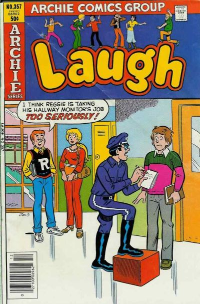 Cover for Laugh Comics (Archie, 1946 series) #357