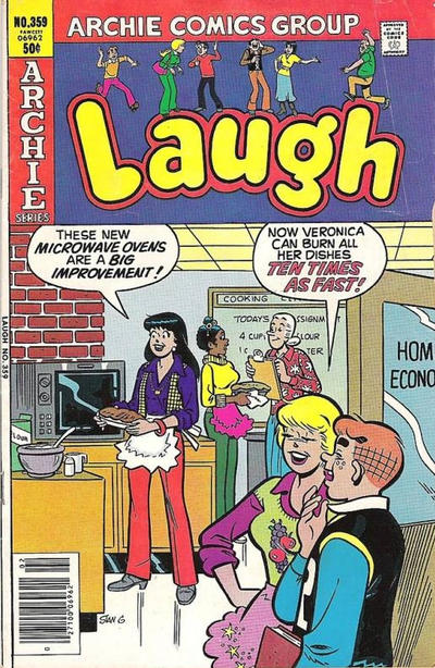 Cover for Laugh Comics (Archie, 1946 series) #359