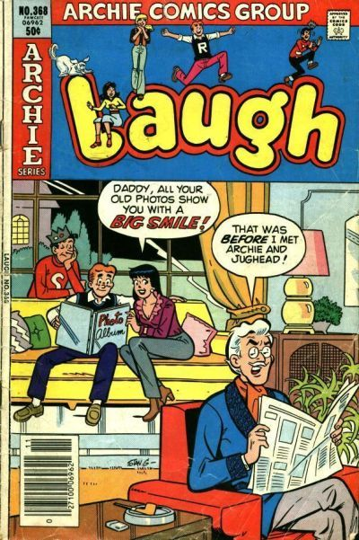 Cover for Laugh Comics (Archie, 1946 series) #368