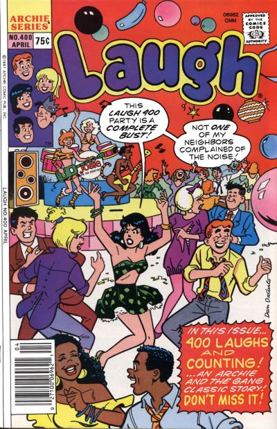 Cover for Laugh Comics (Archie, 1946 series) #400