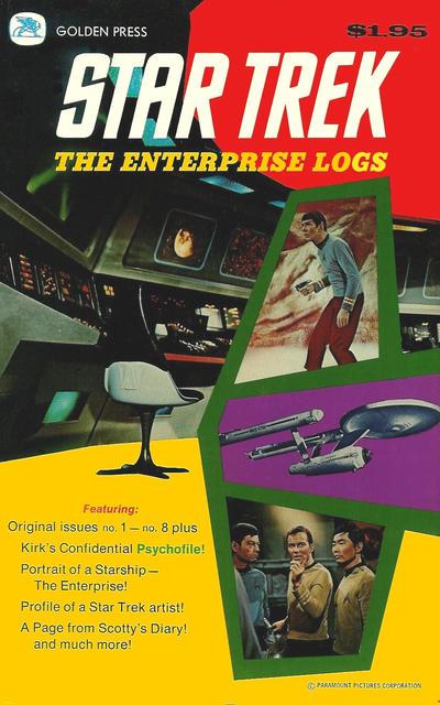 Cover for Star Trek: The Enterprise Logs (Western, 1976 series) #1