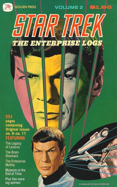 Cover for Star Trek: The Enterprise Logs (Western, 1976 series) #2