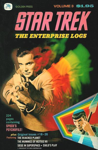 Cover for Star Trek: The Enterprise Logs (Western, 1976 series) #3