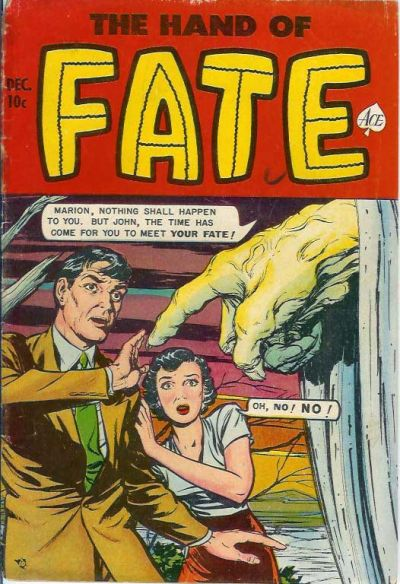 Cover for The Hand of Fate (Ace Magazines, 1951 series) #8