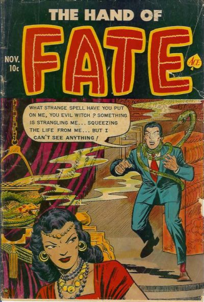 Cover for The Hand of Fate (Ace Magazines, 1951 series) #14