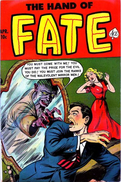 Cover for The Hand of Fate (Ace Magazines, 1951 series) #17