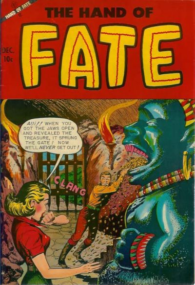 Cover for The Hand of Fate (Ace Magazines, 1951 series) #21