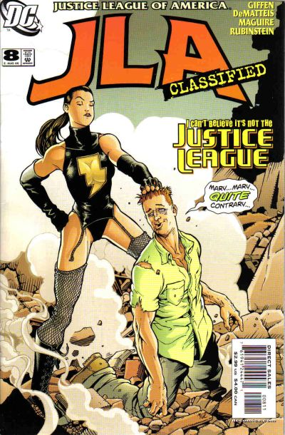 Cover for JLA: Classified (DC, 2005 series) #8 [Direct Sales]
