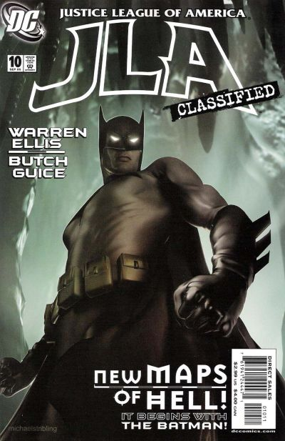 Cover for JLA: Classified (DC, 2005 series) #10 [Direct Sales]