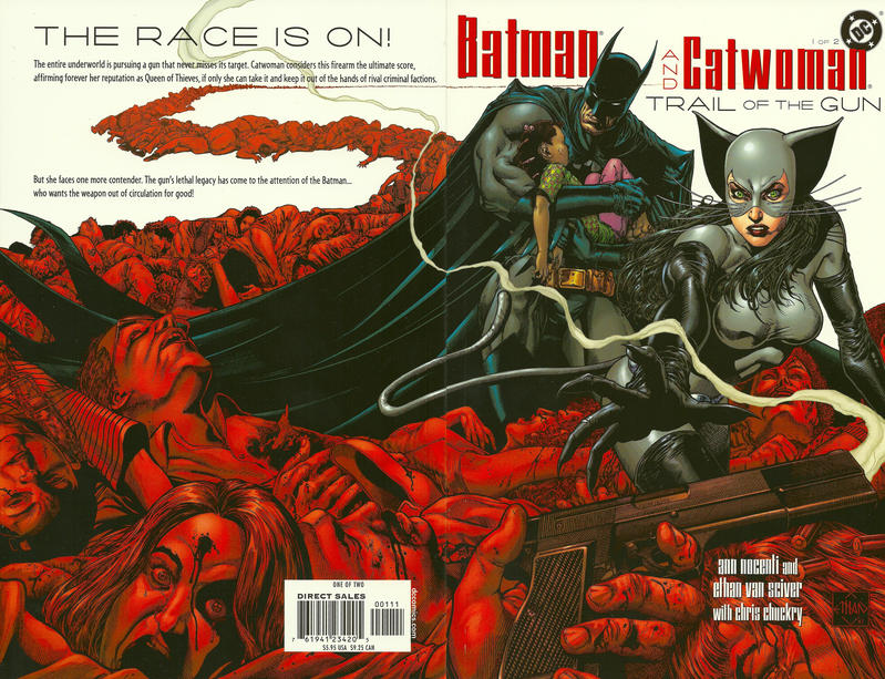Cover for Batman / Catwoman: Trail of the Gun (DC, 2004 series) #1