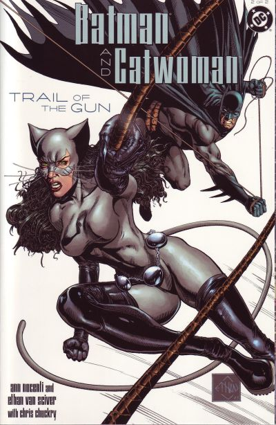 Cover for Batman / Catwoman: Trail of the Gun (DC, 2004 series) #2