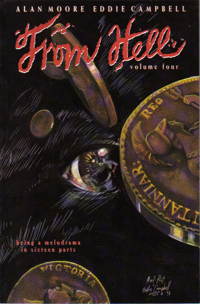 Cover for From Hell (Mad Love Publishing, 1991 series) #4 [First Printing]