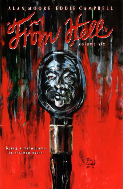 Cover for From Hell (Mad Love Publishing, 1991 series) #6