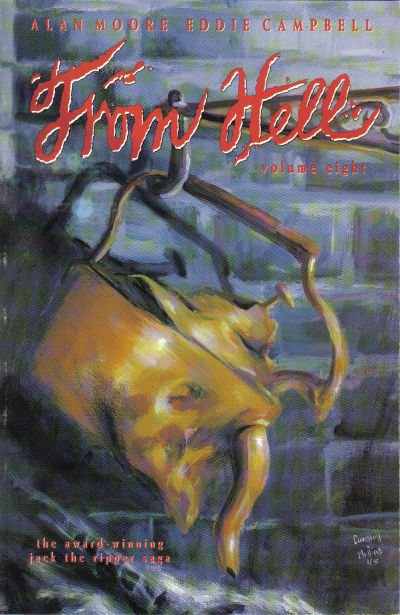 Cover for From Hell (Mad Love Publishing, 1991 series) #8