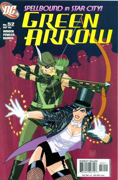 Cover for Green Arrow (DC, 2001 series) #52