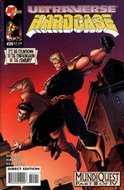 Cover for Hardcase (Malibu, 1993 series) #24