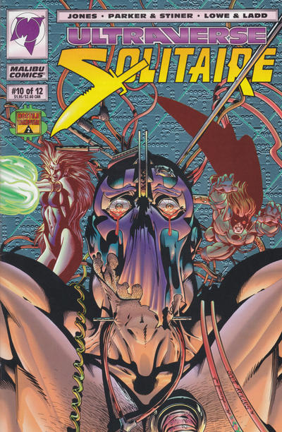 Cover for Solitaire (Malibu, 1993 series) #10