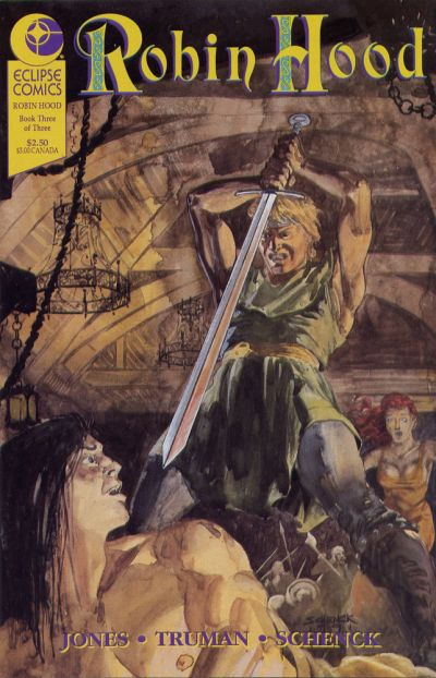 Cover for Robin Hood (Eclipse, 1991 series) #3