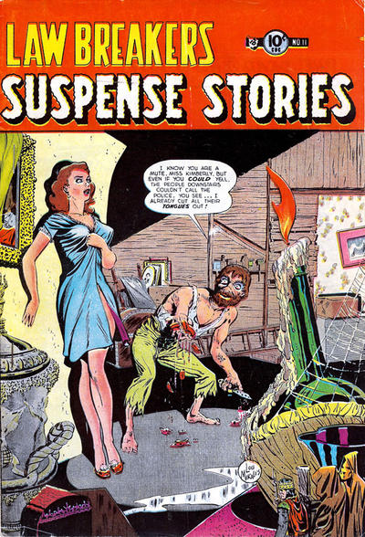 Cover for Lawbreakers Suspense Stories (Charlton, 1953 series) #11