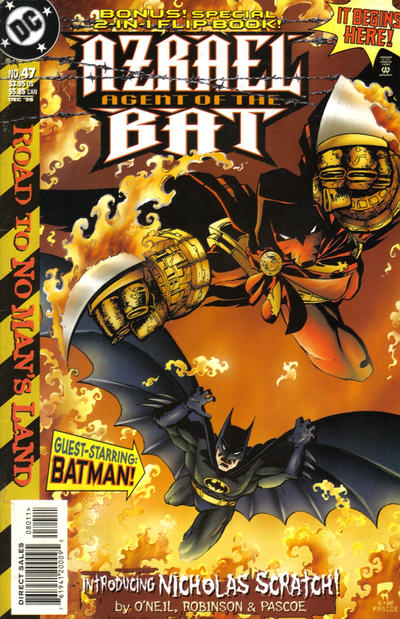 Cover for Azrael: Agent of the Bat (DC, 1998 series) #47