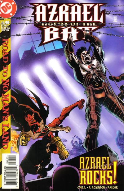 Cover for Azrael: Agent of the Bat (DC, 1998 series) #48
