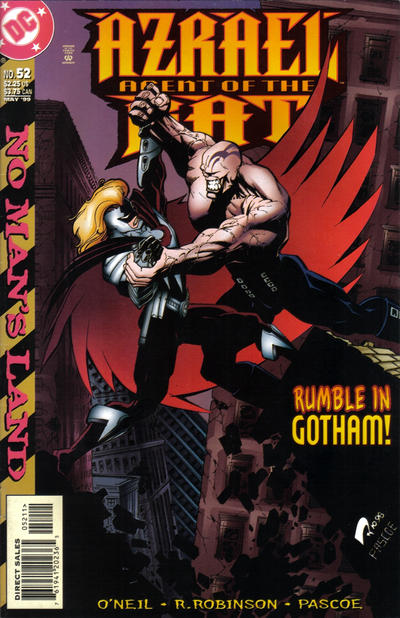 Cover for Azrael: Agent of the Bat (DC, 1998 series) #52