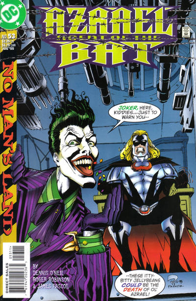 Cover for Azrael: Agent of the Bat (DC, 1998 series) #53