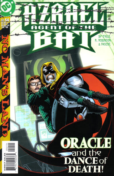 Cover for Azrael: Agent of the Bat (DC, 1998 series) #54