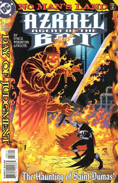 Cover for Azrael: Agent of the Bat (DC, 1998 series) #58