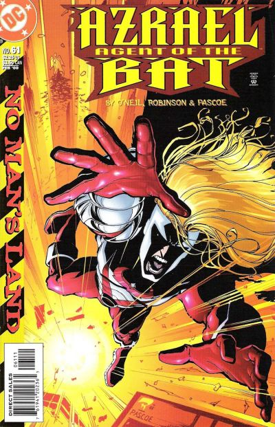 Cover for Azrael: Agent of the Bat (DC, 1998 series) #61