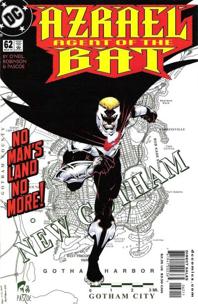 Cover for Azrael: Agent of the Bat (DC, 1998 series) #62