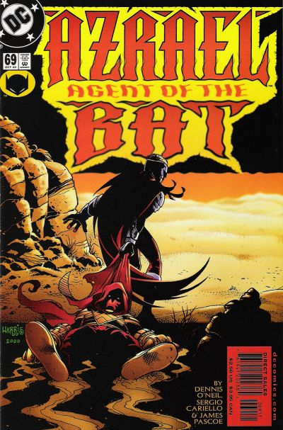 Cover for Azrael: Agent of the Bat (DC, 1998 series) #69