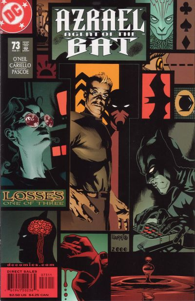 Cover for Azrael: Agent of the Bat (DC, 1998 series) #73