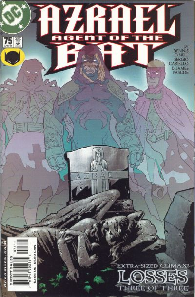 Cover for Azrael: Agent of the Bat (DC, 1998 series) #75