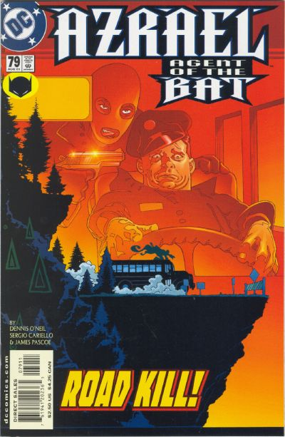 Cover for Azrael: Agent of the Bat (DC, 1998 series) #79