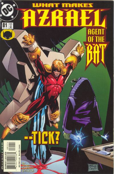 Cover for Azrael: Agent of the Bat (DC, 1998 series) #81